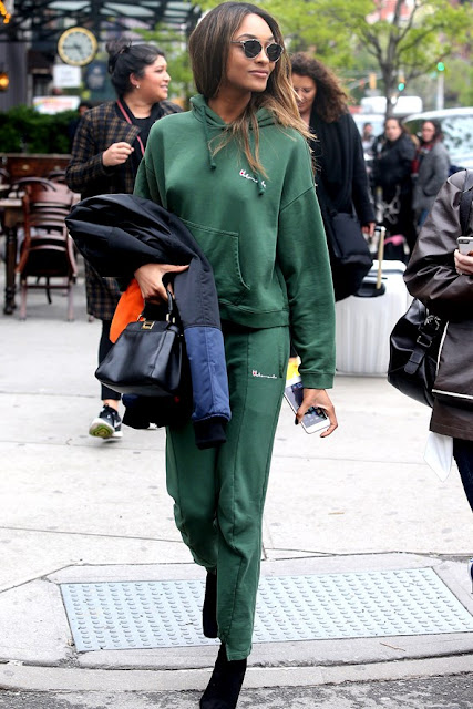 Jourdan Dunn Street Style New York Vogue 4May16 {Cool Chic Style Fashion}