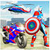 Avenger Captain Robot Bike Transform City Survival Game Tips, Tricks & Cheat Code