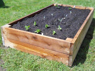 Backyard Planter Box Build Installation
