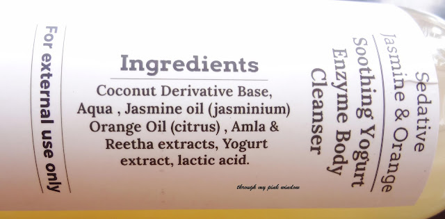 Sedative Jasmine & Orange Soothing Yogurt Enzyme,Neroli and White Tea Refreshing Soy Milk Enzyme,Lemon Cypress Japanese Mint Stimulating Soy Milk Enzyme Body Cleanser