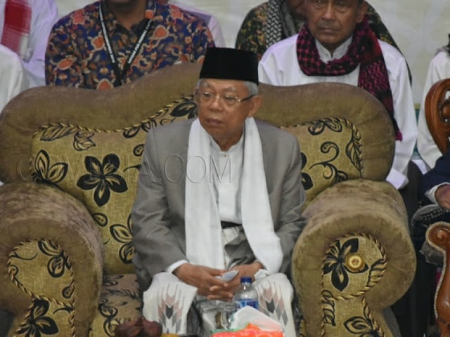Ma'ruf Amin Singgung Prabowo yang Kena Jokowi