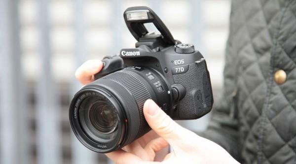 kamera dslr canon eos 77d