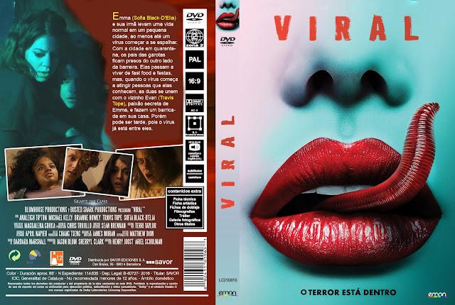 Capa DVD Viral