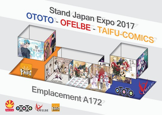 Actu Light Novel, DanMachi, Japan Expo 2017, Light Novel, Manga, Ofelbe, Opération éditeur, Overlord, Re:Zero Re:Life, Spice and Wolf, Sword Art Online : Alicization,