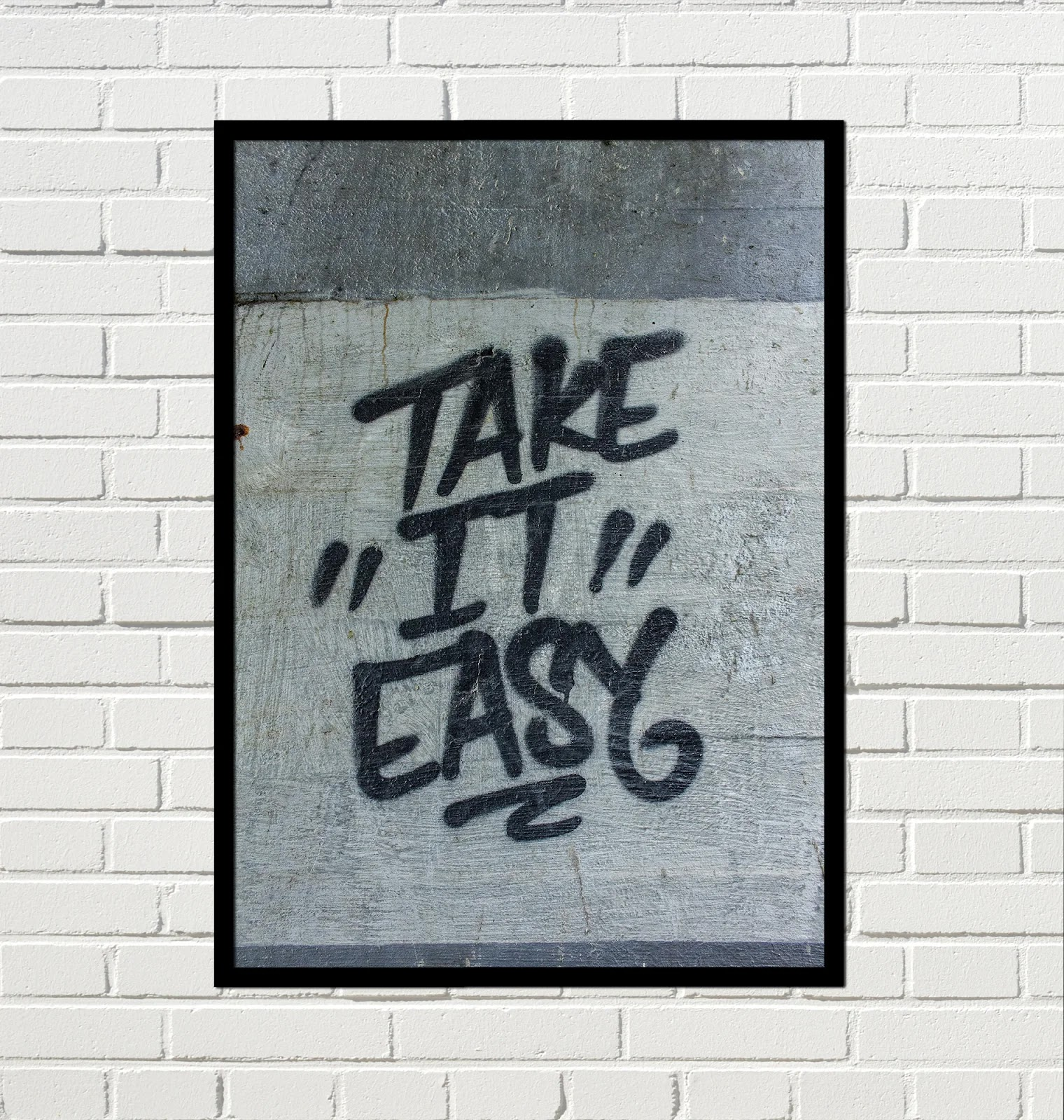 Cuadro Urbano Take it easy