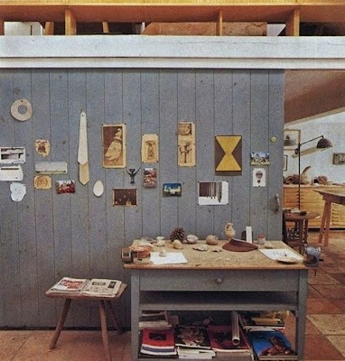 Workspaces Of The Greatest Artists Of The World (38 Pictures) - Joan Miró, artist