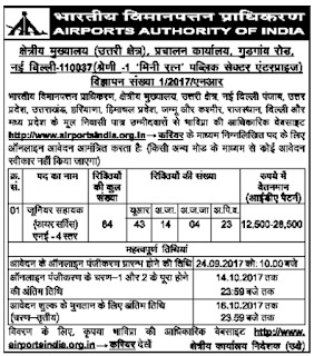 AAI Junior Assistant Fires Service Jobs Exam Pattern and notification Syllabus9.png