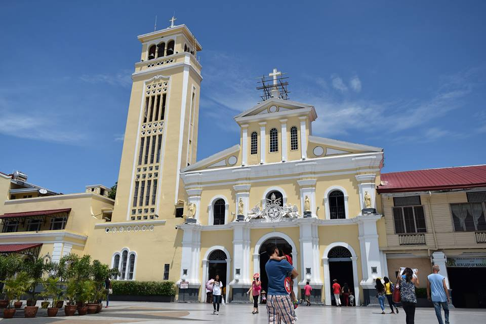 The Minor Basilica of Our Lady of the Most Holy Rosary of Manaoag in Pangasinan