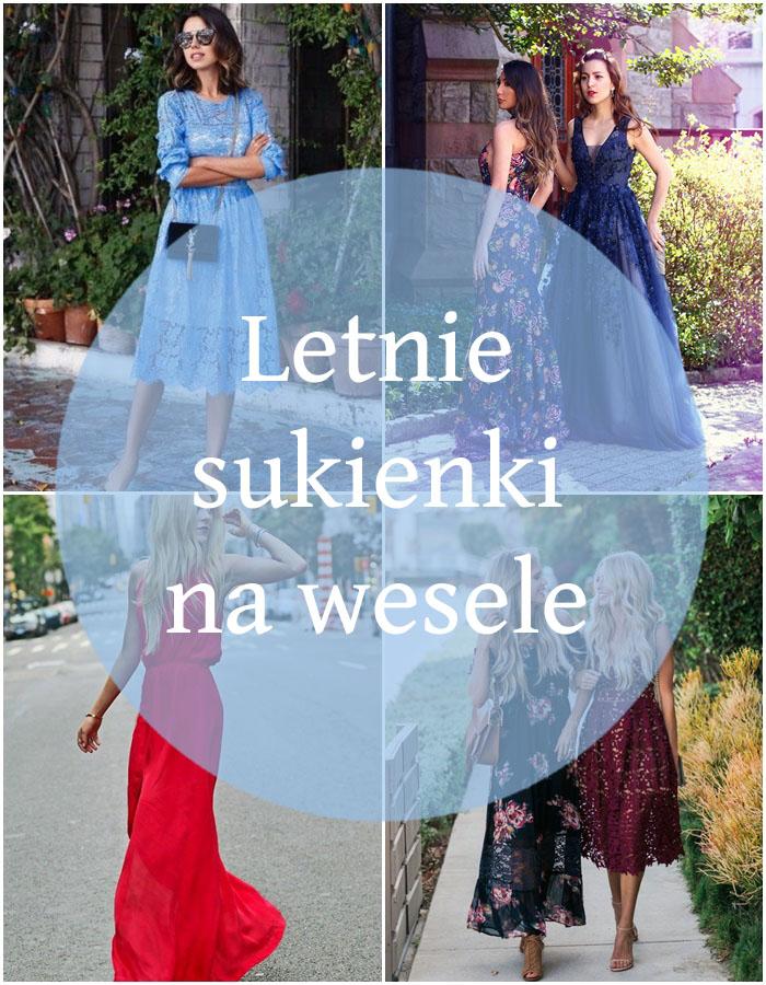 Przegląd: letnie sukienki weselne