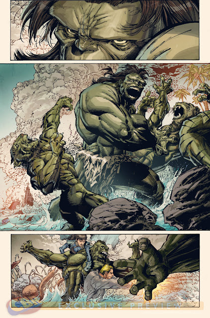 Incredible Hulk art by Whilce Portacio