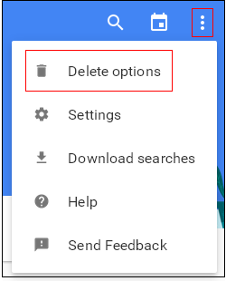Remove All Web History from Google - Blogger