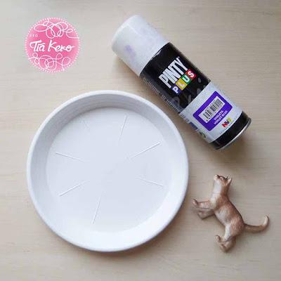 Tía Keko y manualidades con pintura