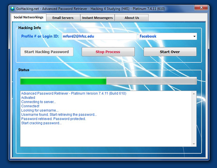 advanced password retriever h4s platinum