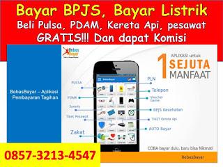0857-3213-4547 Aplikasi Gratis Bayar Tagihan Listrik Beli Pulsa Dari HP Sendiri