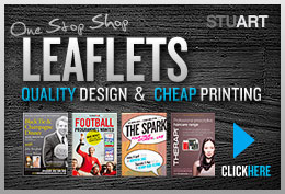The Best Leaflet Design Service with Cheap Leaflet Printing included: