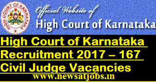 Hc-of-Karnataka-167-Civil-Judge-Vacancies