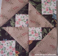 Free quilt pattern tutorial by The Quilt Ladies