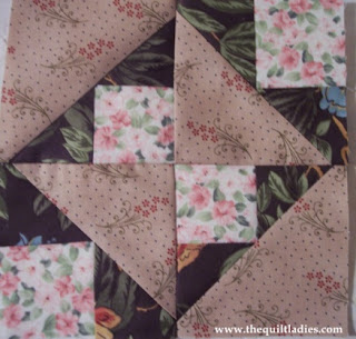Free quilt pattern by The Quilt Ladies