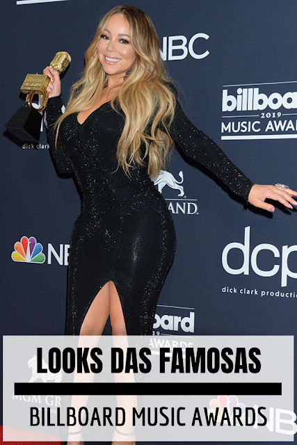Looks do Billboard Music Awards 2019 mariah carey