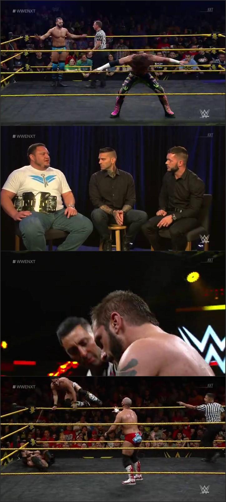 Screen Shot Of WWE NXT 1st June 2016 WebHD 480P 200MB