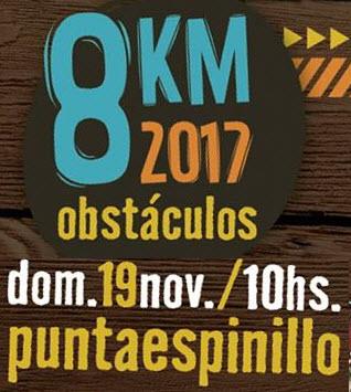 8k Obstáculos de El Cantero (Punta Espinillo, Montevideo, 19/nov/2017)