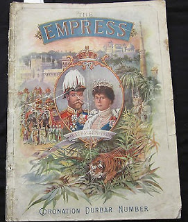 Cover of The Empress Coronation Durbar Souvenir