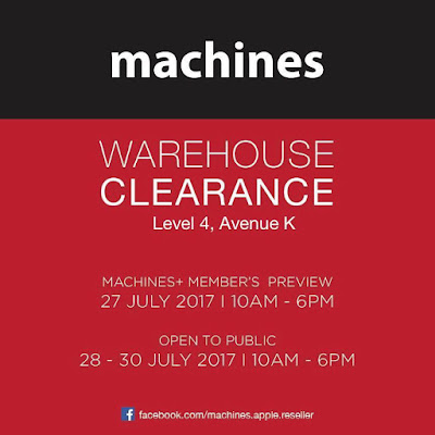 Machines Malaysia Apple Warehouse Clearance Sale Discount Offer Promo