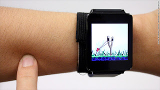 touch skin Smartwatch