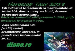 Horoscop 2018 Taur