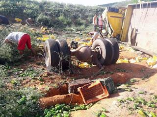 Motorista de São Vicente do Seridó morre em acidente de caminhão na Bahia