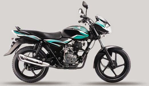 Bajaj Discover 100 Black Green
