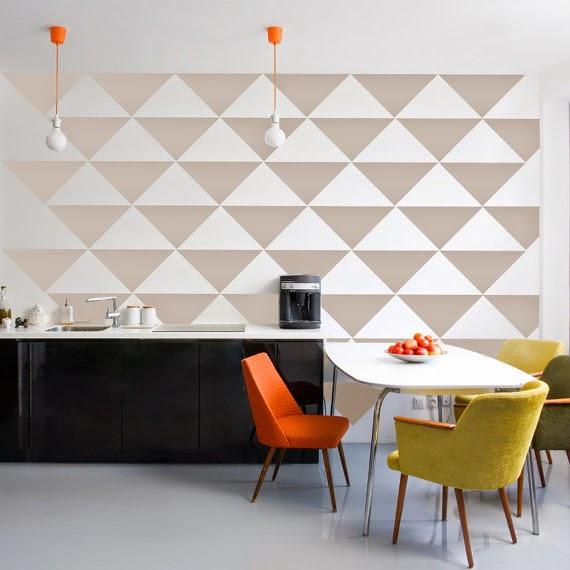 decorar a parede com adesivo