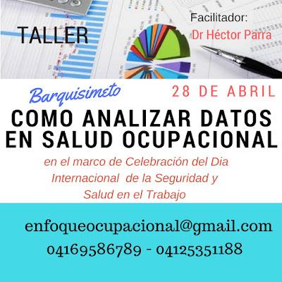 Curso,Como analizar datos,Salud Ocupacional,Dr Hector Parra
