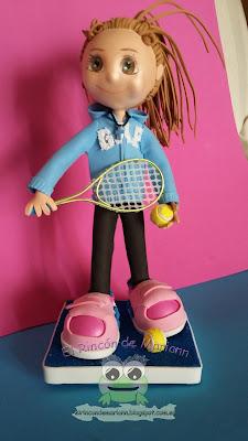 Fofucha tenista