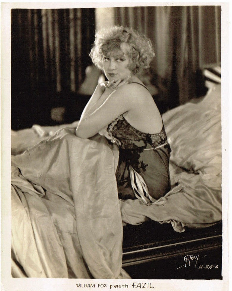 Swedish Born American Film and Stage actress Greta Nissen - 1928