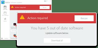تحميل برنامج افيرا لتحديث البرامج Avira Software Updater