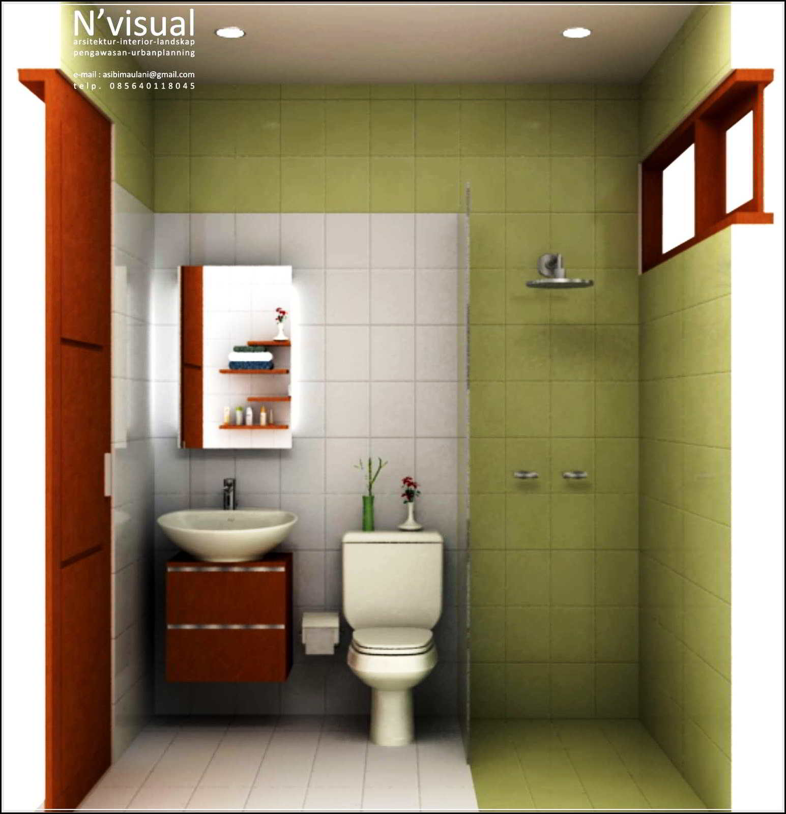 45 Desain Kamar Mandi Minimalis Kecil Sederhana Bernuansa Modern