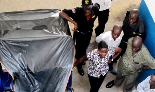 Drama as Man Jumps Off 13-Storey Building After Running Into a Man He was Owing Money (Photo)
