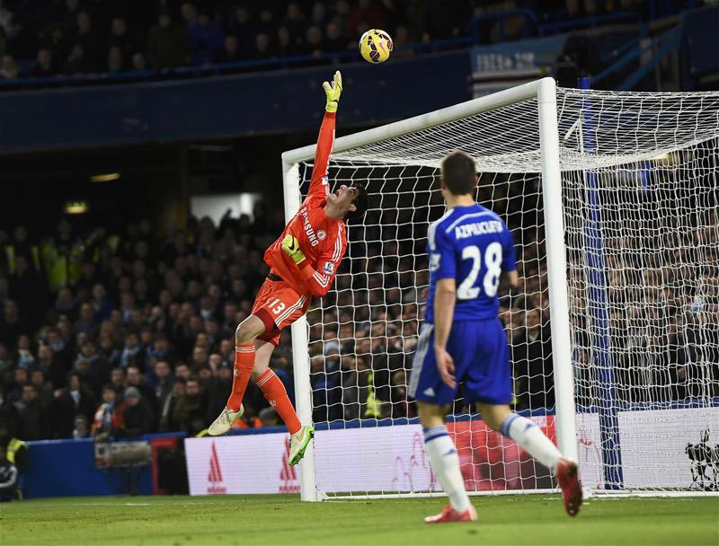 Chelsea FC's Courtois is ranked worst goalkeeper in Premier League
