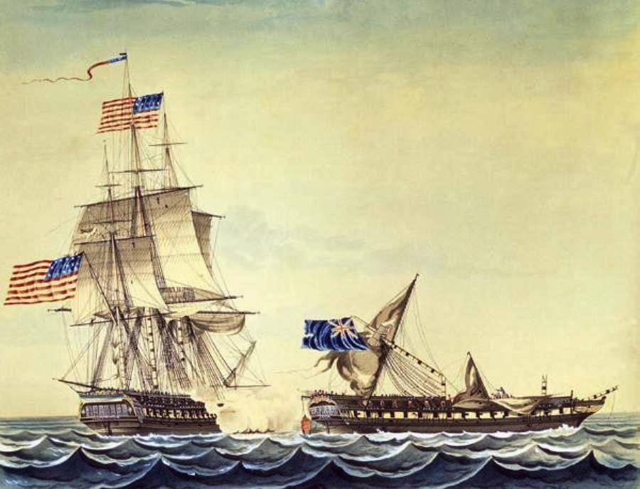 War of 1812 USS Constitution Raisin RiverUss Constitution 1812