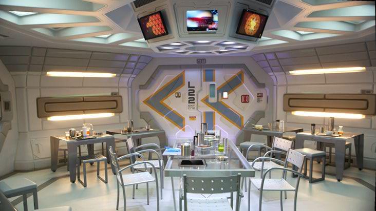 EXONAUTS Prometheus deck plans and interior shots
