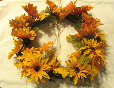 Dollar Store Fall Wreath (just $6.00)