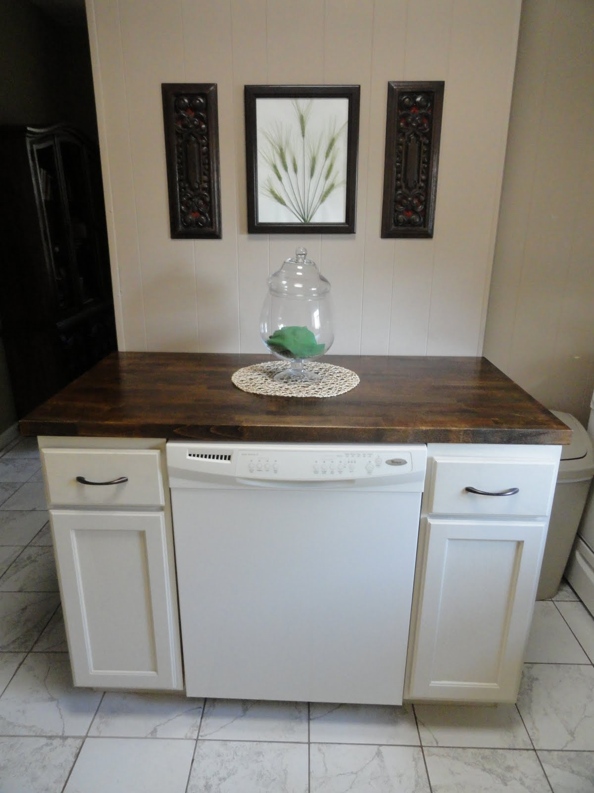 Gap Between Stove And Countertop The Precious Little Things In Life Diy Dishwasher Cabinet