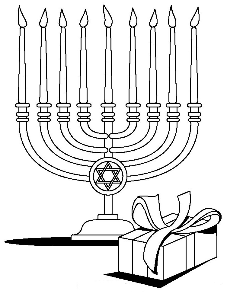 Download Free Hanukkah Color Pages Printable for Pre ...