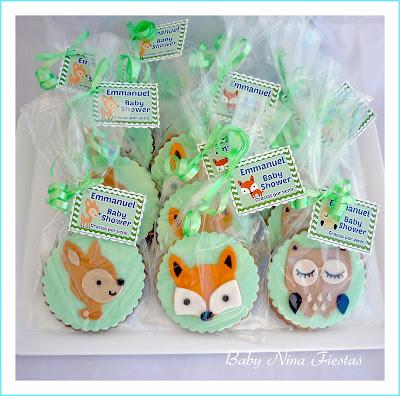 galletas decoradas animales bosque