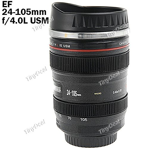 Camera Lens Style EF 24-105mm Lens Coffee Mug1
