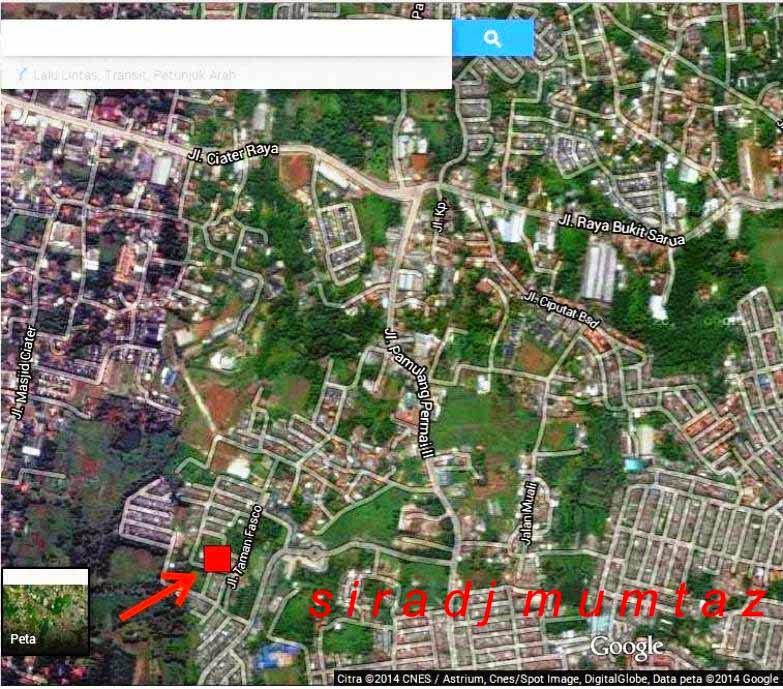 Gambar Rumah Sakit: Jual Tanah Luas 92m² Dibelakang Kantor Walikota Tangsel