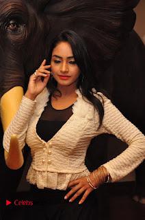 Actress Pooja Sree Pictures at Khaan Saab Restuarent Launch in Gachibowli 0088