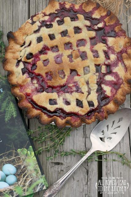Blueberry Thyme Pie