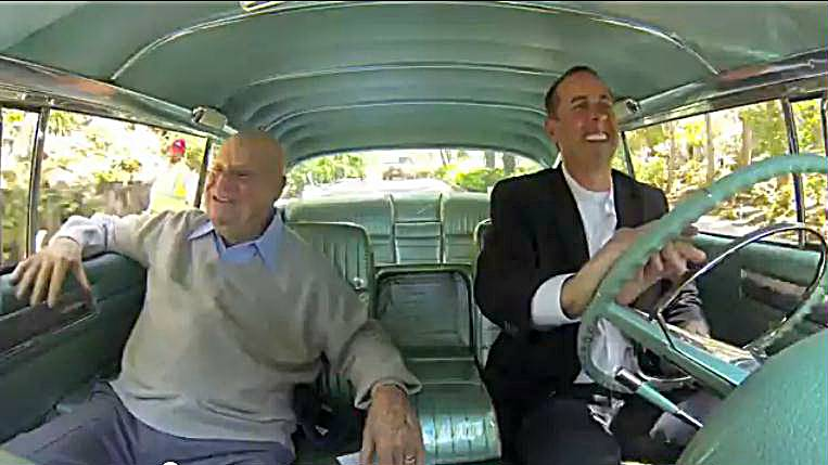 jewish humor central jerry seinfeld and don rickles comedians in cars getting coffee. Black Bedroom Furniture Sets. Home Design Ideas